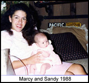 Marcy Sauter, postpartum doula and baby nurse